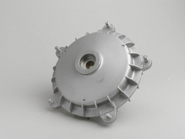 """Tambor de freno trasero 10"""" -CALIDAD OEM- Vespa PX (-1984), Rally180 (VSD1T), Rally200 (VSE1T), Sprint150 (VLB1T), TS125 (VNL3T), GT125 (VNL2T), GTR125 (VNL2T), GL150 (VLA1T) - aro de retención 27mm"""