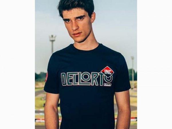 """T-Shirt -DELLORTO, """"Reparto Corse""""- blu - M"""