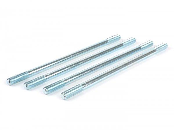Stehbolzen-Set für Zylinder- M8 x 163mm -BGM ORIGINAL- (verwendet für Zylinder Vespa PX200 (VSX1T), Cosa200 (VSR1T), Rally180 (VSD1T), Rally200 (VSE1T), SS180 (VSC1T), GS160 / GS4 (VSB1T), Lambretta (LI, LIS, SX, TV, DL, GP)
