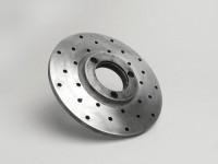 Brake disc -LAMBRETTA with holes Ø170/45mm 3o- TV 175, TV 200, DL/GP 200