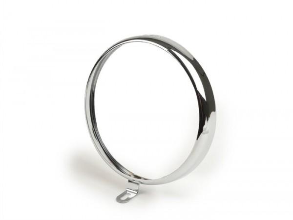 Scheinwerferzierring -SIEM Ø=105/115mm (Glas/außen)- Vespa VN2