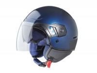 Helm -VESPA PJ- Jethelm, blau - S (55-56cm)