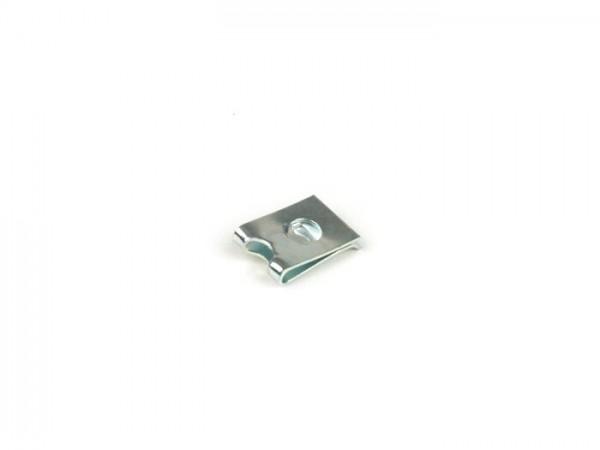 Grapa tornillo -PIAGGIO- Ø=3.5mm - 11x16mm (para tapa deflector cilindro/tapa cubre ventilador Vespa PX)