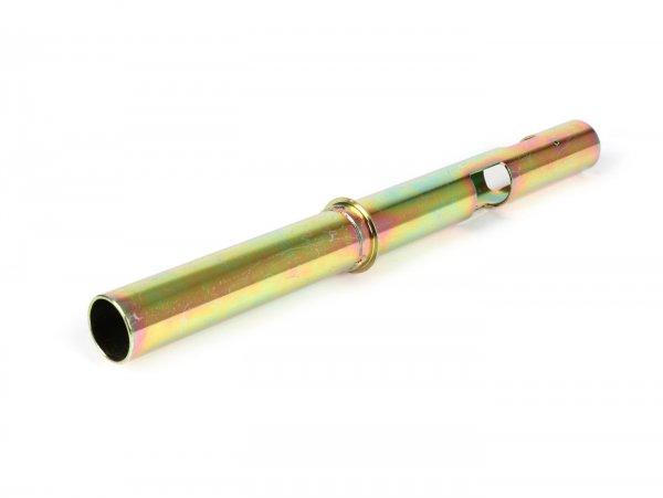 Gasrohr -OEM QUALITÄT 3-Gang- Vespa V50 - 50N/L(V5A1T), 50R (V5A1T -881915), 50S (V5SA1T -67570), 50SR/Sprinter (V5SS2T), Vespa 90 (V9A1T -122983) - l=265mm Ø=24mm
