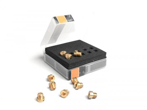 Hauptdüsenset -BGM PRO für Dellorto (Typ: 6413) 6mm- (50-72) - (50-52-55-58-60-62-65-68-70-72)