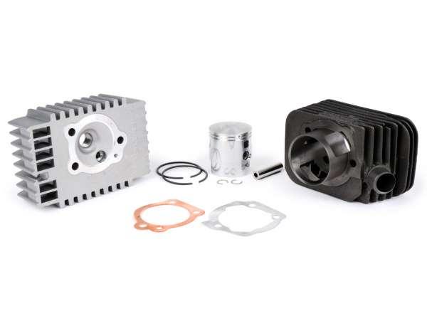 Cylinder -MALOSSI 73 cc Sport Ø46,5mm- Piaggio Bravo, Boss, Grillo, SI, Superbravo (gudgeon pin = Ø 10mm) - milling engine casing is required