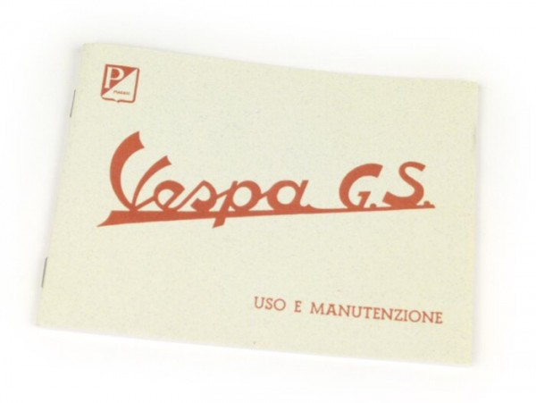 Owner's manual -VESPA- Vespa GS 150 (1955)