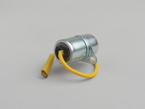 Kondensator -EFFE, Ø=20mm, h=31mm, µF 0,32, 1-Kabel- Vespa V50 N, V50 L, V50 R, V50 Special, V90, 90 SS, PV125