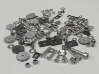 Screw set body parts Verkleidungsteile -MB DEVELOPMENTS- Lambretta LI, LIS, SX, TV (Series 2-3), DL, GP - stainless steel