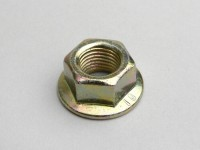 Nut with flange -DIN 6923- M14 x 1.5 (used for clutch bell Piaggio Master 400-500cc)