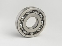 Ball bearing -613912 C3- (25x62x12mm) 9 balls - (used for crankshaft, drive side Vespa PX, T5 125cc, Rally180 (VSD1T), Rally200 (VSE1T), Sprint, GS150 / GS3... - crankshaft, flywheel side Sprint, GS150 / GS3, VNA, VNB, VBA, VBB...)