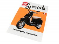 Brochure -SC Specials: VESPA Smallframe (Modern Vespa) Sprint, Primavera, S, LX, LXV (2013-)- edition 01/2019 - French