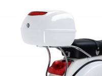 Topcase-Träger hinten -PIAGGIO- Vespa PX80, PX125, PX150, PX200 - Chrom