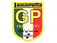 Aufkleber -LAMBRETTA Lambretta GP 80x65mm-