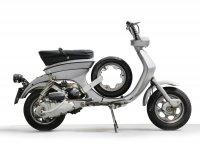 Spare wheel carrier -SCOOTER CENTER- Lambretta Lui, Luna, Vega, Cometa- stainless steel
