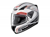 Helmet -NOLAN, N60-5 Practice- full face helmet, metallic white - XL (61-62cm)