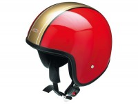 Helmet -RB-656- red/gold - M (57-58cm)