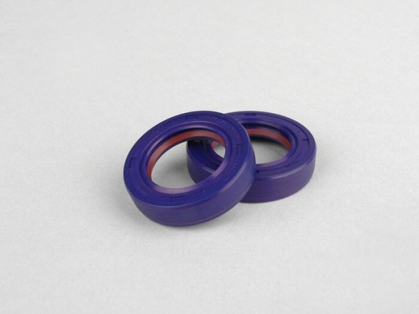 Oil seal set for crankshaft -POLINI PTFE/FKM- Piaggio 50 cc 2-stroke