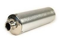 Silencer -PM TUNING straight tailpipe- silver