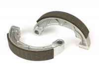 Brake shoes -POLINI Ø=152x25mm- LAMBRETTA LI, LIS, SX, TV