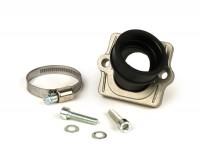 Intake manifold -MALOSSI MHR + FKM- Piaggio 2-stroke - CS=34mm