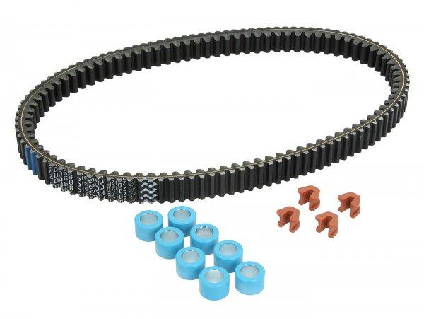 Inspektionskit -PIAGGIO, V-Belt Smart Kit- Piaggio Beverly 500 (ZAPM34100, ZAPM34500), Piaggio MP3 500 (ZAPM59200, ZAPM64300), Piaggio X10 500 (ZAPM76300), Aprilia Scarabeo 500 (ZD4VR000, ZD4VRC00, ZD4VRE), Gilera Fuoco 500 (ZAPM61100, ZAPM83100), Gi