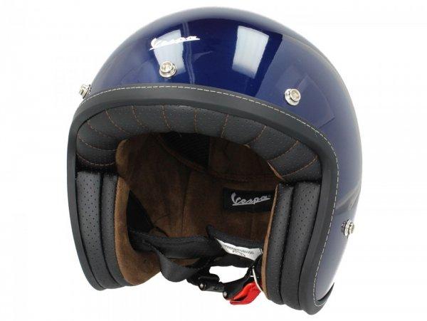 Helmet -VESPA Pxential- Blu Lucido - XS (52-54cm)
