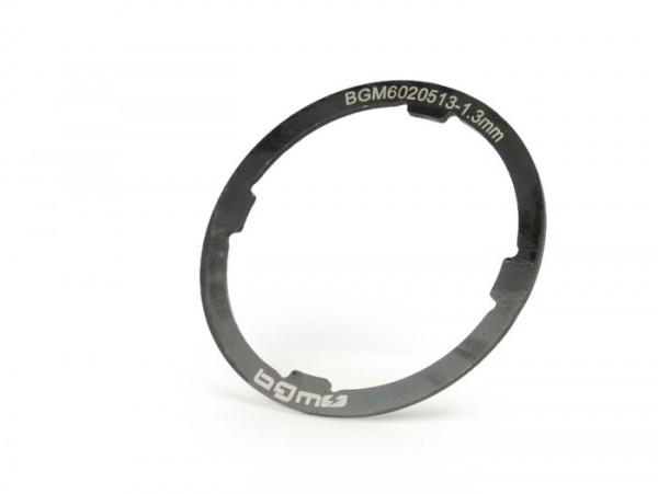 Gearbox shim -BGM ORIGINAL- Vespa Smallframe V50, PV125, ET3, PK - Largeframe PX EFL (1984-), Cosa, T5 125cc - 1,30mm (+0,0 /- 0,04mm)