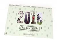 Calendar -CASA LAMBRETTA- 2018