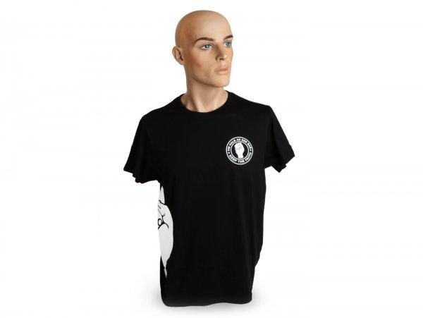 Camiseta Beagle-Um halb an der Bar- L