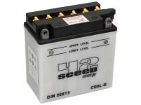 Batterie -Standard SCEED 42 Energy- Sceed CB9L-B(12N9-3B) - 12V, 9Ah - 140x76x137mm (inkl. Säurepack)