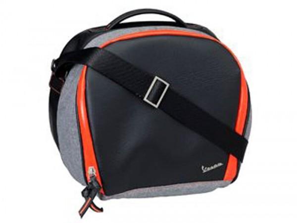 Top case inner bag - PIAGGIO Vespa- 32l - black/orange - Vespa Primavera 50 (ZAPC53100, ZAPC53200), Vespa Primavera 125 (ZAPM81100), Vespa Primavera 150 (ZAPM81200), Vespa Sprint 50 (ZAPC53101, ZAPC53201), Vespa Sprint 125 (RP8M82111, ZAPM8130)