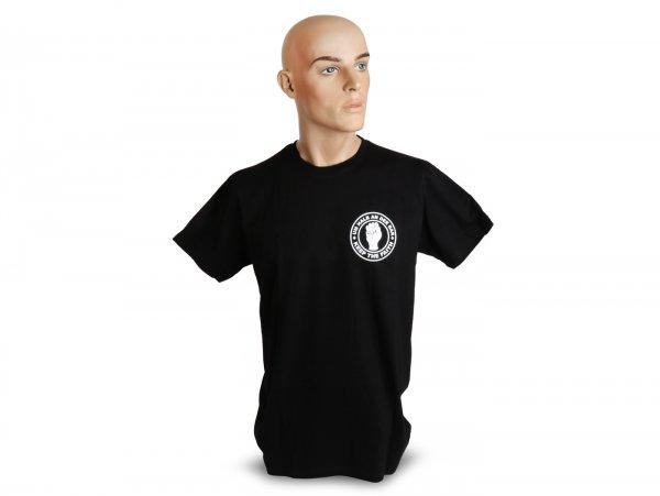 Camiseta, hombres -Um halb an der Bar- XS