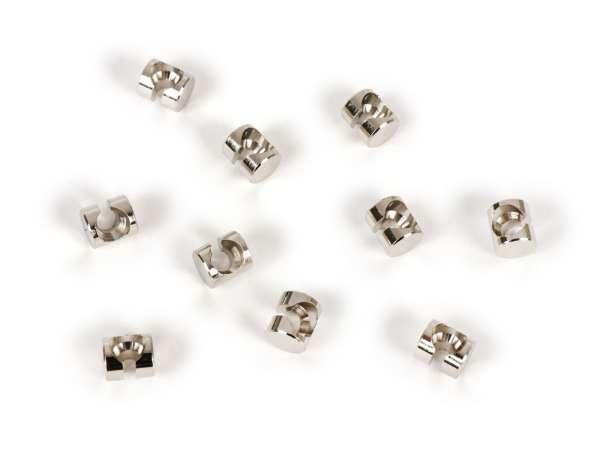 Embout câble -BGM ORIGINAL- tête Ø=8x9mm (type tête haute) - Vespa PX, T5 125cc, Rally, Sprint, VBB, VNB, VNA, VBA, Super, TS, GT, GTR, V50, 50N, SS50, SS90, V90, V100, PV, ET3, Lambretta LI, LIS, SX, TV, DL, GP- 10 unités
