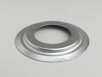 Dust cover steering shell on fork -SIL- Lambretta LI, LI S, SX, TV, DL, GP