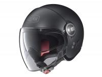 Helm -NOLAN, N21 Visor Classic- Jethelm, schwarz matt - XXS (54cm)