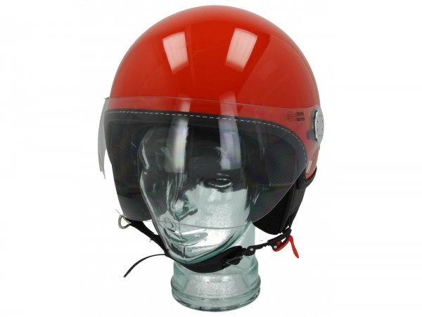 Helmet -VESPA Visor 3.0- arancio impulsivo (A11) - XL (61-62cm)