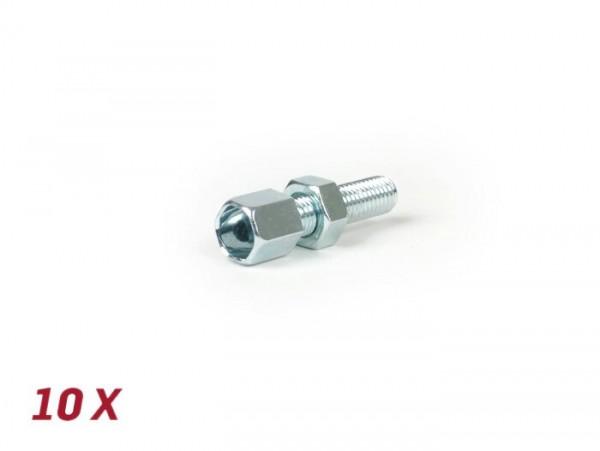 Adjuster screw set M7 x 25mm -BGM ORIGINAL- 10 pcs
