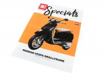 Brochure -SC Specials: VESPA Smallframe (Modern Vespa) Sprint, Primavera, S, LX, LXV (2013-)- edition 01/2019 - Dutch