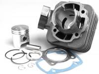 Zylinder -BGM ORIGINAL 50 ccm- Peugeot AC (vertikal) - SPEEDFIGHT1 50 cc AC, SPEEDFIGHT2 50 cc AC, TKR50, TREKKER50, VIVACITY50, ELYSEO50, SQUAB50, SV50, ZENITH50, BUXY50, ELYSTAR50, LOOXOR50, SPEEDAKE
