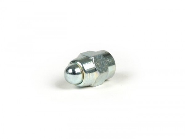 Domed cap nut M8 for brake hub studs -CASA PERFORMANCE Octopus Multispline- Lambretta LI (series 3), LIS, SX, TV (series 3), DL, GP