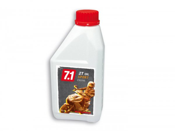 Öl -MALOSSI 7.1 Sport (SAE 20W-30)- 2-Takt synthetisch - 1000ml