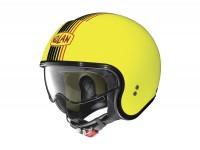 Helmet -NOLAN, N21 Joie de Vivre- open face helmet, LED yellow - XS (55cm)