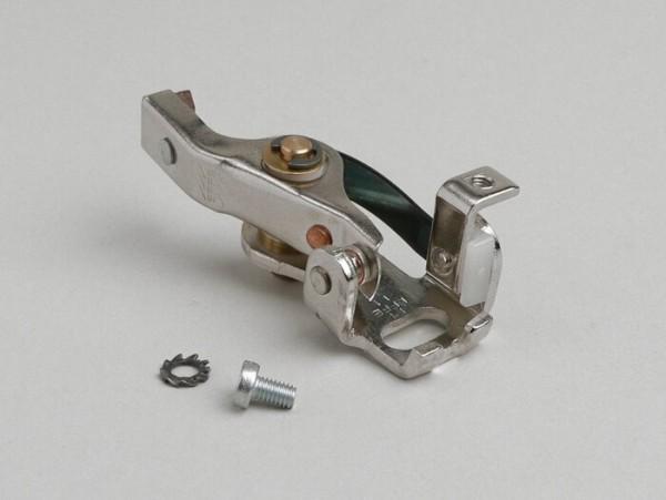 Point set -OEM QUALITY long with pin- V50 V5SS1T till V5SS2T, V90 V9SS1T, V9A1T (ab No 21450), Vespa 125 VMA1T till VMA2T, VNB6T (ab Nr, 035189), GT125 (VNL2T), GTR125 (VNL2T), Vespa 150 VBB2T (ab No 270250), Super, Sprint (ab No 24078), Sprint V