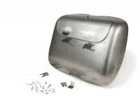 Kit bauletto -ULMA NANUCCI Style- Lambretta LI (serie 3), LIS, SX, TV (serie 3) - non vernicato/acciaio grezzo (oliato)