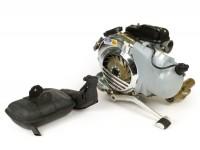 Engine -LML 125cc 3-port reed valve intake with autolube, electric starter (type E23, Euro 3)- Vespa Largeframe (1962->) VBA, VBB, VNA, VNB, VNC Super, GS160, SS180, Sprint, Rally, TS, GT, GTR, PX80, PX125, PX125, PX200, T5, LML Star, Stella, NV, Baj