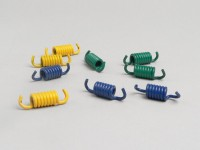 Kupplungsfedern -POLINI- Rotax 125-150, Piaggio 125-200 ccm Leader, Piaggio 250 ccm Quasar/HPE, Piaggio 300 ccm Quasar/HPE, Piaggio 500 ccm Master (bis Bj. 04.2004), Honda 125-150 ccm 2-Takt, Honda 250 ccm (Typ CN), Kymco 125-150 ccm