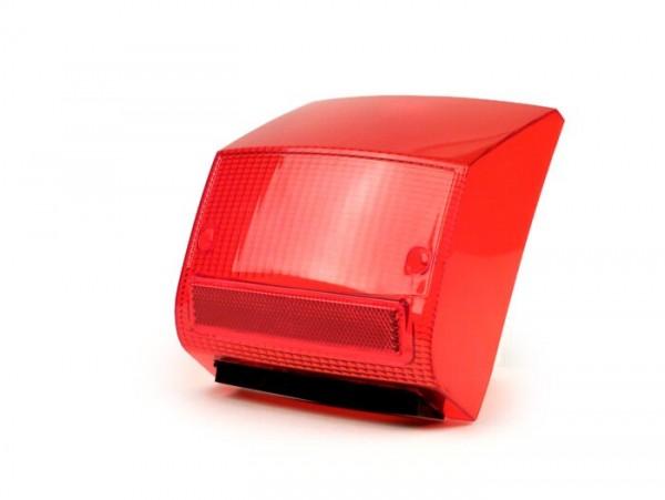 Rücklichtglas -MOTO NOSTRA- Vespa PX Lusso (1985-2000) - rot