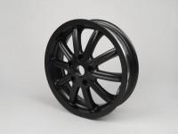 Wheel rim -PIAGGIO 3.00-12 inch - 10 spokes- PIAGGIO MP3 - fits also Vespa GT, GTL, GTS 125-300, GTV - black