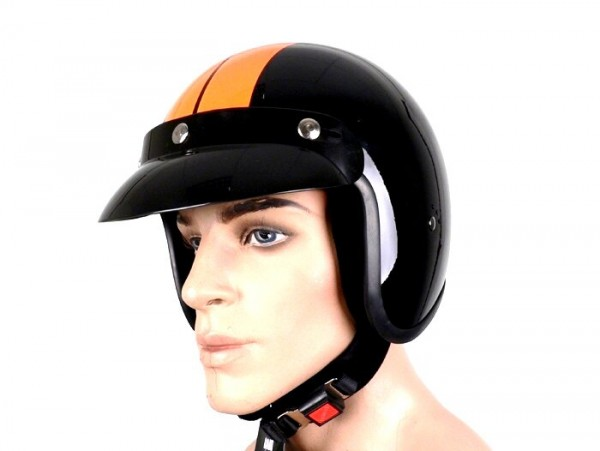 Helmet -BANDIT Jet Race- black - XS (53-54cm)